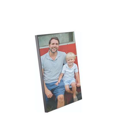 Picture of WOODEN PHOTO PA.- GLOSS WH.- 18x27