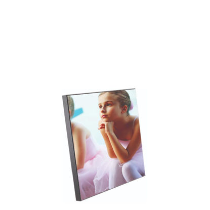 Picture of WOODEN PHOTO PA.- GLOSS WH.- 29.1x29.1