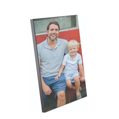 Picture of WOODEN PHOTO PA.- GLOSS WH.- 30x40