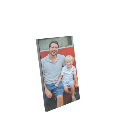 Picture of WOODEN PHOTO PANELS - GLOSS WH.-20.32X25.40