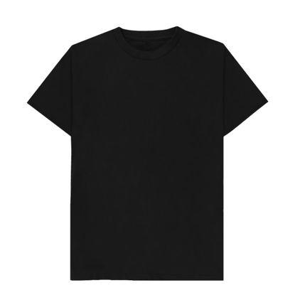 Picture of T-SHIRT cotton - BLACK (XL) unisex
