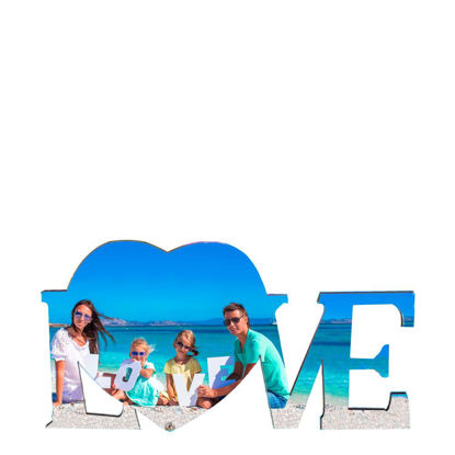Picture of HB - PHOTO FRAME Love (29x15cm-5mm)