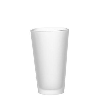 Εικόνα της MUG GLASS - 17oz LATTE frosted