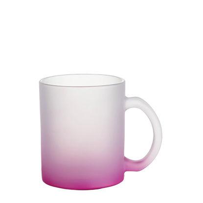 Εικόνα της MUG GLASS -11oz (FROSTED) PURPLE Gradient
