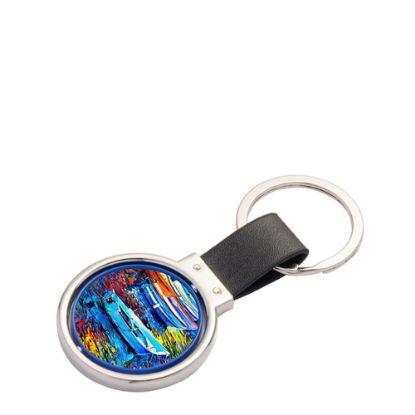 Εικόνα της KEY-RING - PU ROTATING CIRCLE