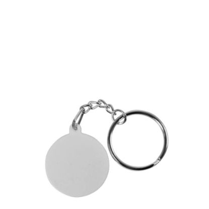 Picture of KEY-RINGS (plastic 2side)ROUND-SHAPED - 3.2cm