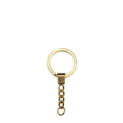 Εικόνα της METAL ring + METAL tab GOLD