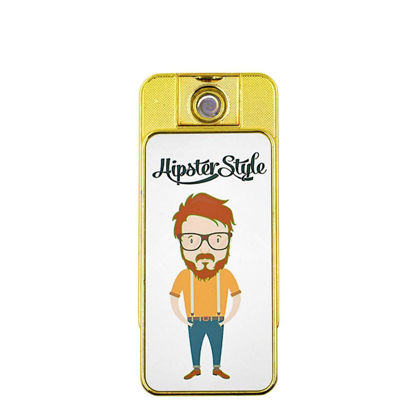 Picture of Lighter (USB) Gold 2sided