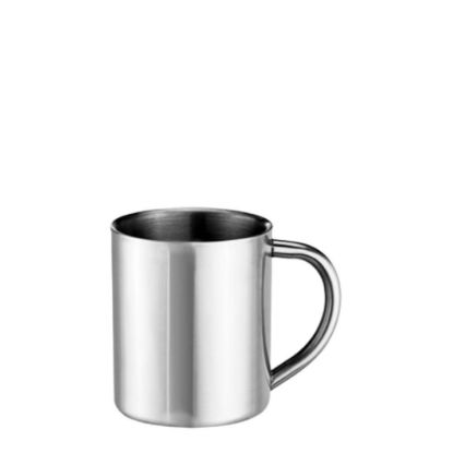 Picture of STAINLESS ST. MUG  8oz - SILVER