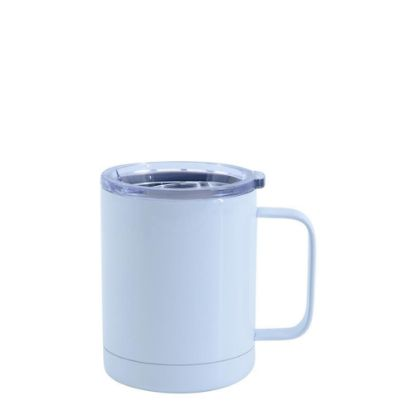 Picture of STAINLESS STEEL mug (with handle) 10oz WHITE