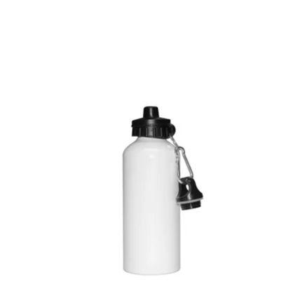 Εικόνα της WATER BOTTLE - ALUM. 400ml - WHITE 2caps