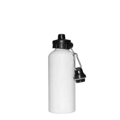 Εικόνα της WATER BOTTLE - ALUM. 500ml (WHITE eco) 2caps