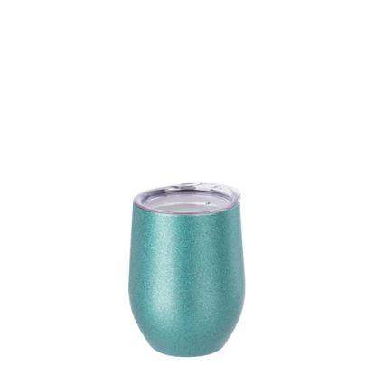 Εικόνα της Stemless Cup 12oz (Glitter Blue)