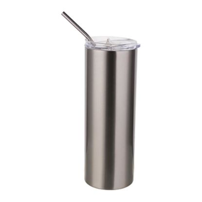 Picture of Skinny Tumbler 20oz (Silver)
