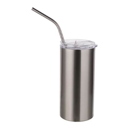 Picture of Skinny Tumbler 16oz (Silver)