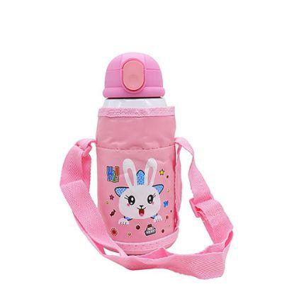 Εικόνα της KIDS - D.WALL BOTTLE-550ml- PINK (3 lids+Bag)