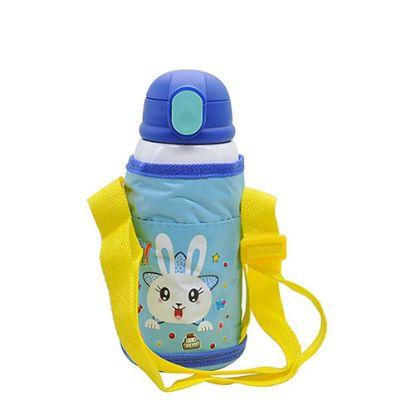 Εικόνα της KIDS - D.WALL BOTTLE-550ml- BLUE (3 lids+Bag)