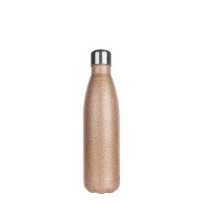 Εικόνα της Bowling Bottle 500ml (Glitter Gold)