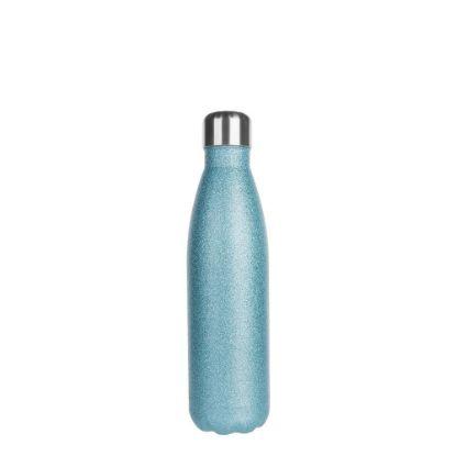 Εικόνα της Bowling Bottle 500ml (Glitter Blue Light)