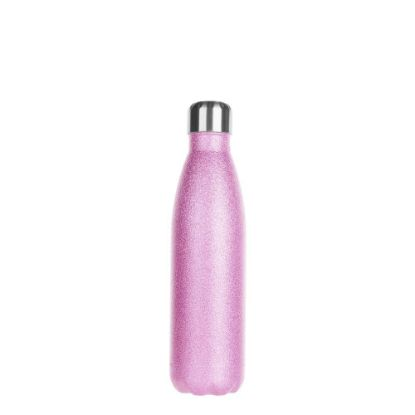 Εικόνα της Bowling Bottle 500ml (Glitter Pink)