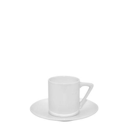 Picture of MUG WHITE/GLOSS -  3.6oz (Coffee Set)triangle