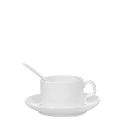 Picture of MUG WHITE/GLOSS -  4oz (Coffee Set)