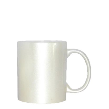 Εικόνα της MUG 11oz (SPARKLING) WHITE PEARL