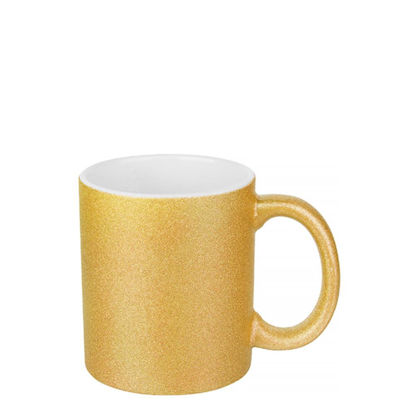 Εικόνα της MUG 11oz (GLITTER) GOLD