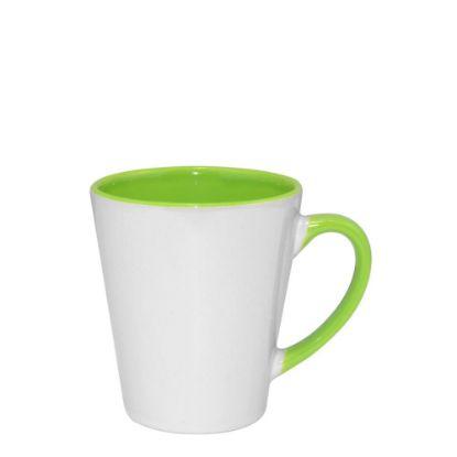 Εικόνα της MUG 12oz - INNER & HANDLE/Latte - GREEN LIGHT