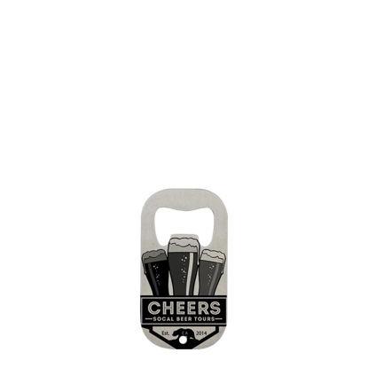 Εικόνα της BOTTLE OPENER (STAIN.STEEL silver) rect.small