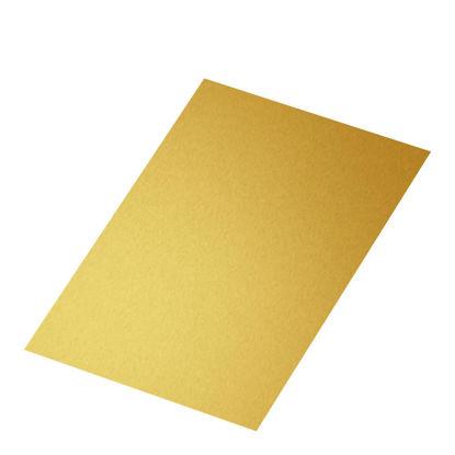 Εικόνα της BIG PANEL- ALUMINUM GLOSS gold (30.48x60.96) 0.76mm