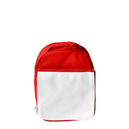 Picture of KIDS - SCHOOL BAG - RED small