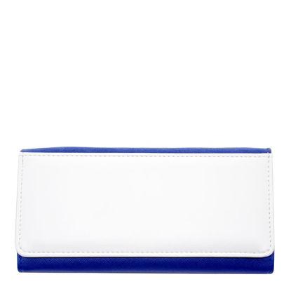 Εικόνα της LADY PURSE with Gift box (FLEXI) BLUE