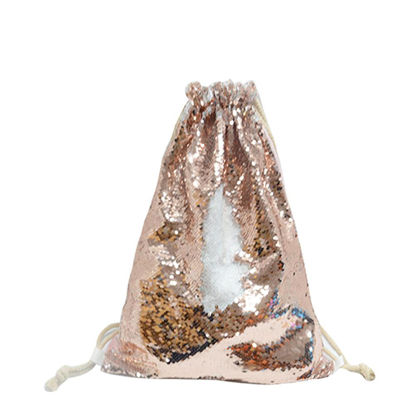 Picture of GYM BAG sequin (CHAMPAGNE) 35x45
