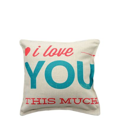 Picture of PILLOW - COVER (LINEN) 25x25cm