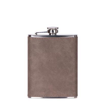 Εικόνα της Flask 8oz PU (Brown Dark)