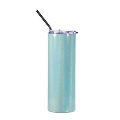 Picture of Skinny Tumbler 20oz (Sparkling Blue)