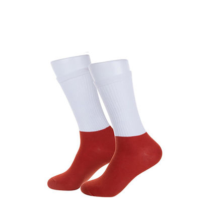 Picture of SOCKS (ADULTS) ATHLETIC RED sole-20x25