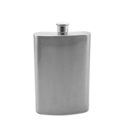 Εικόνα της Flask 8oz (Silver)