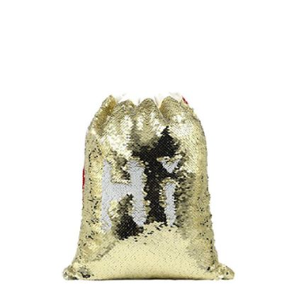 Picture of SACK - SEQUIN gold (40x30cm)