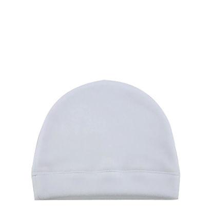 Εικόνα της Fleece Baby Hat (Medium) ultra-soft and light - White