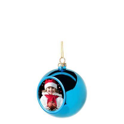 Εικόνα της XMAS - BALL 8cm/BLUE