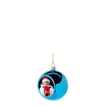 Εικόνα της XMAS - BALL 6cm/BLUE