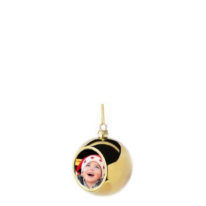 Εικόνα της XMAS - BALL 6cm/GOLD
