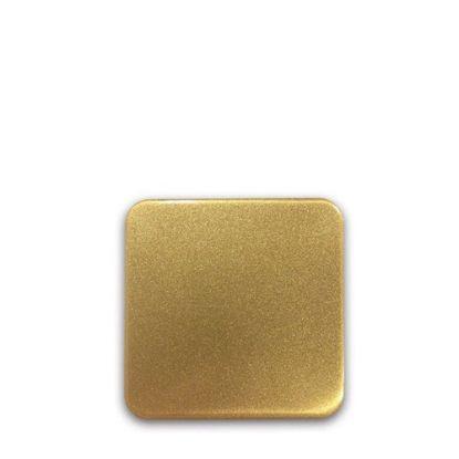 Picture of FRIDGE MAGNET -ALUM. (GOLD) SQUARE 9.0x9.0