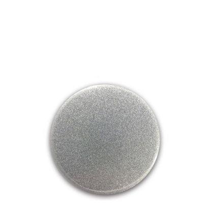 Picture of FRIDGE MAGNET -ALUM. (SILVER) ROUND 5.8x5.8