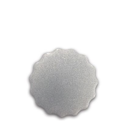 Picture of FRIDGE MAGNET -ALUM. (SILVER) ROUND 6.0x6.0