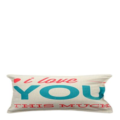Picture of PILLOW - COVER (LINEN) 30x60cm