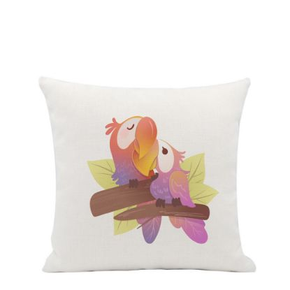 Picture of PILLOW - COVER (LINEN SOFT white) 40x40cm