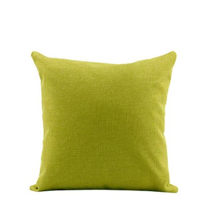 Picture of PILLOW - COVER (LINEN green light) 40x40cm